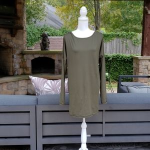 Lucy Olive Yoga Tunic XL